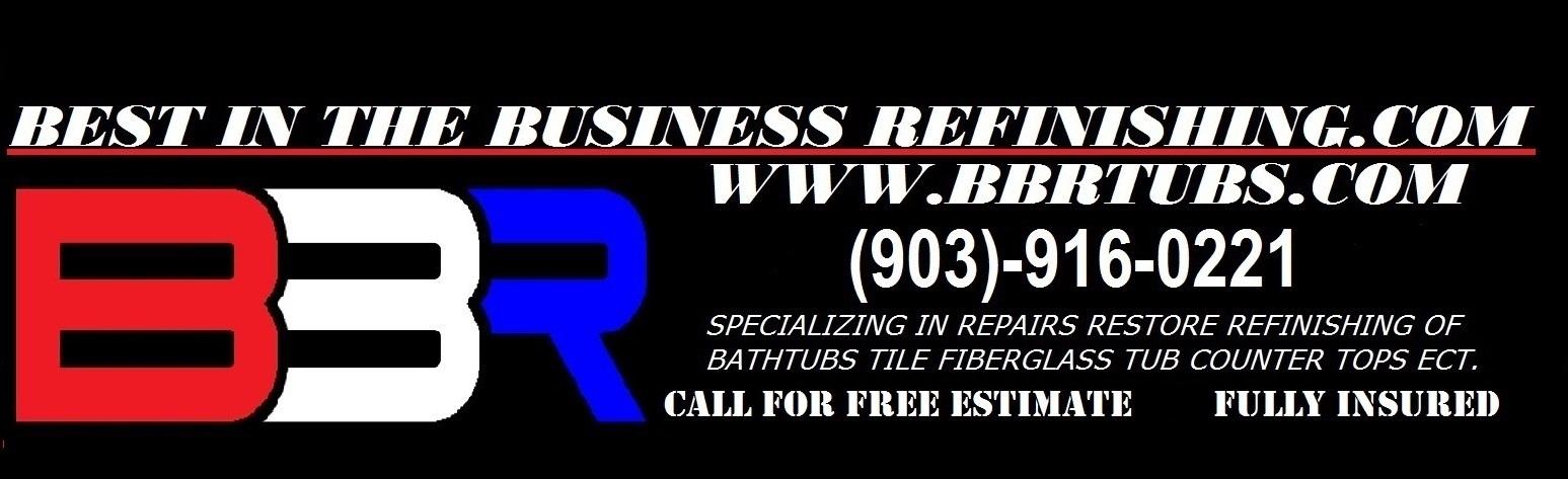 Bathtub & Countertop Repair and Refinishing in Tyler TX & Longview Tx