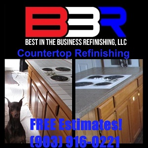 Countertop Refinishing in Richardson Texas